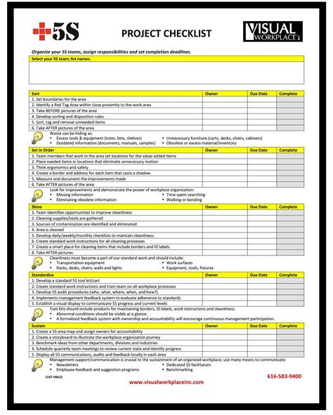 project checklist template excel gallery templates
