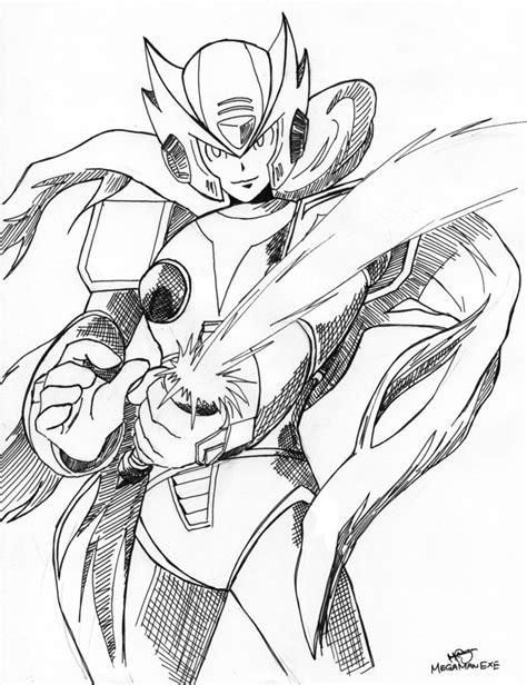 Mega X Sketches by Zero Megaman X Series By Megaman Ex On Deviantart
