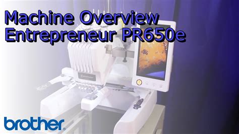 design of machine elements youtube overview of the entrepreneur 174 pr650e six needle