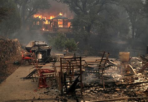 California Fires Drive From Homes To Hotels by The Whole Town Was On La Times
