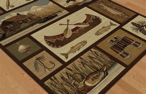 rugs for cabins wilderness cabin rug collection