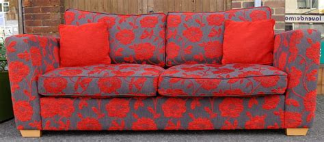 heath sofa dfs dfs red grey floral sofa in haywards heath expired