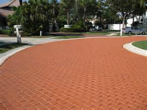 How To Spray Paint Vases - coloron colored sealer on brick paver driveway contemporary miami by surfacelogix