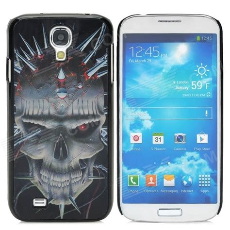3d Plastic For Smartphone Samsung Galaxy S4 41 3d skull style protective plastic back for samsung galaxy s4 i9500 black grey