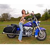 Holly On 2003 Road King  Harley Flickr