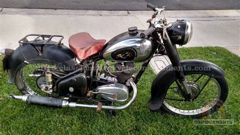 peugeot motorcycle 1954 peugeot 175 motorcycle for sale