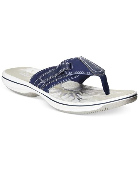 clarks flip flop sandals clarks collection s brinkley jojo flip flop sandals