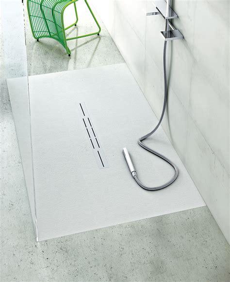 ebenerdige duschen 170 receveur de fiora gamme silex privilege plat