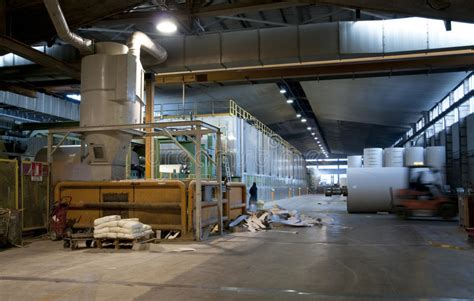 paper and pulp mill stock paper and pulp mill plant fourdrinier machine royalty free stock image image 12165586