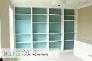 ikea billy bookcase built in look built in bookcases