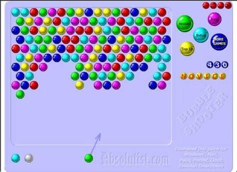 jocul bubbles  funnygamesro