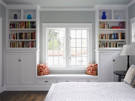 25 best ideas about bookcase bench on window