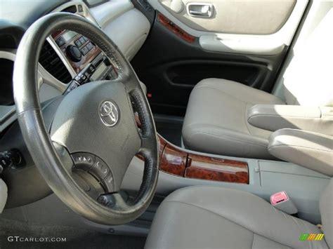 2004 Toyota Highlander Interior by 2004 Toyota Highlander Limited V6 Interior Photos