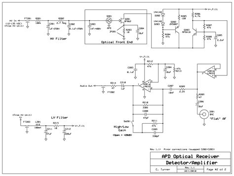avalanche photodiode circuit diagram 28 images ka7oei s a novel apd based speech bandwidth
