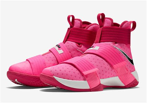 Sepatu Basket Zoom Lebron 9 Soldier Yow Pink Premium Import nike lebron soldier 10 think pink 844375 606 sneakernews