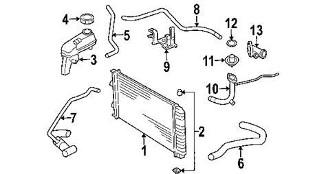 2002 chevy cavalier exhaust system diagram 2002 chevrolet cavalier parts gm parts department buy