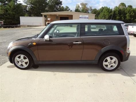 auto body repair training 2012 mini clubman transmission control sell used repairable project not salvage 09 mini cooper clubman clean title not reserve in