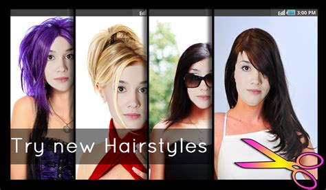 haircuts at home app hairstyles fun and fashion android apps on google play