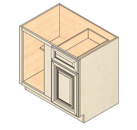 blind corner cabinet dimensions bbc36 vintage white blind base corner cabinet kitchen