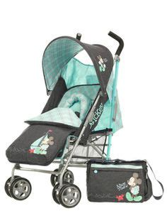 Alas Stroller Mickey Mouse baby child gear on disney babies hooded