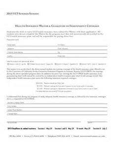 Insurance Waiver Template by Insurance Waiver Template Free