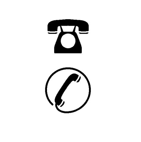 mobile symbol for resume phone ringing icons free