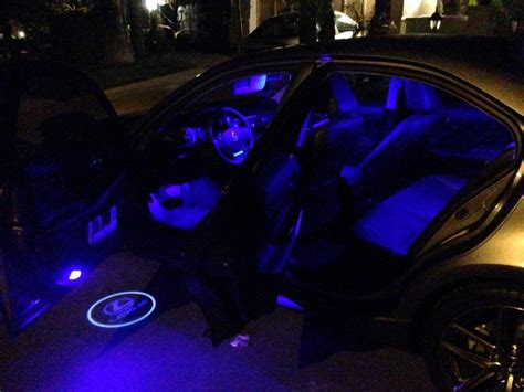 How To Install Led Lights In Car Interior by Interior Lights Installation Footwell Included Club