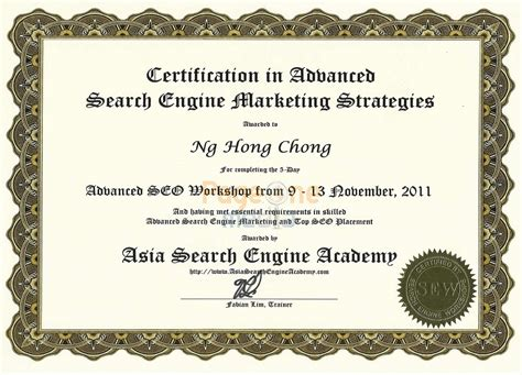 Or Certification Our Seo Adwords Analytics Certifications Visit Us