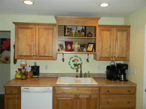 Decorating Above Kitchen Cabinets Before And After