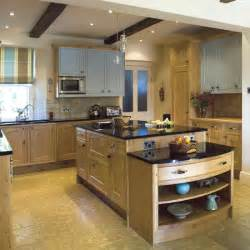 Oak Kitchen Design Ideas oak farmhouse kitchen kitchen design decorating ideas image