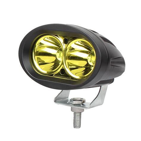 20 Watts Yellow Cree Led Fog Lights For Motorcycles Yellow Led Fog Light Bulbs