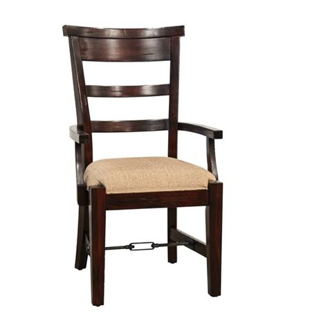 Dining Arm Chairs Design Ideas Designs Vineyard Dining Arm Chair In Rustic Mahogany 1605rm 2