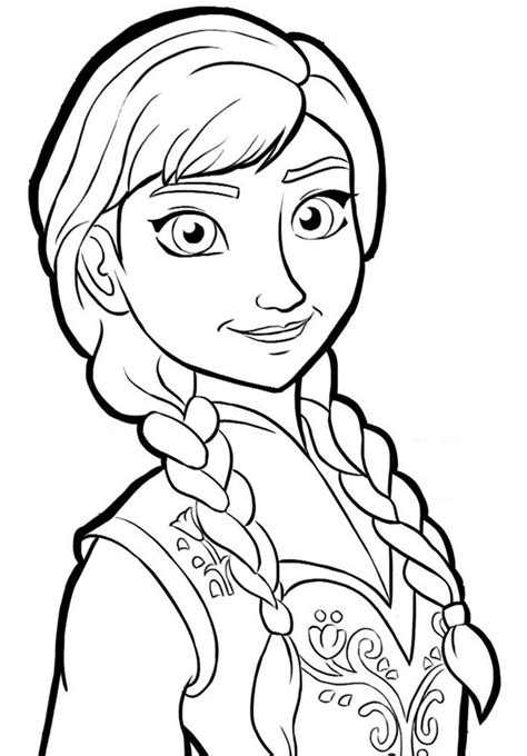 free coloring pages of frozen full