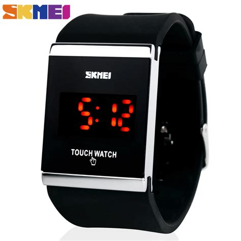 Jam Tangan Casual Ohsen Original Trendy Sporty Stylish aliexpress buy skmei trendy colorful led touch digital casual