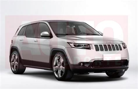 Jeep C Rendering Of Jeep C Suv Smaller Than Renegade