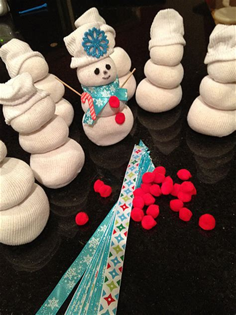 Crafts For Holidays - preschool holiday party snowman craft and cookies little trendstar