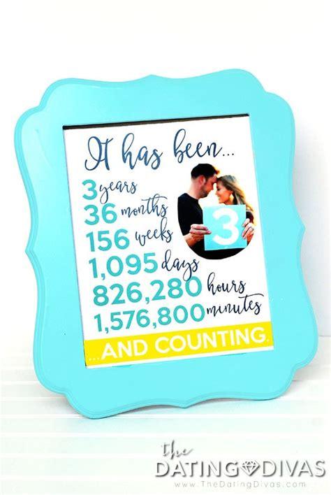 third anniversary traditional third anniversary gift printable kit the dating divas