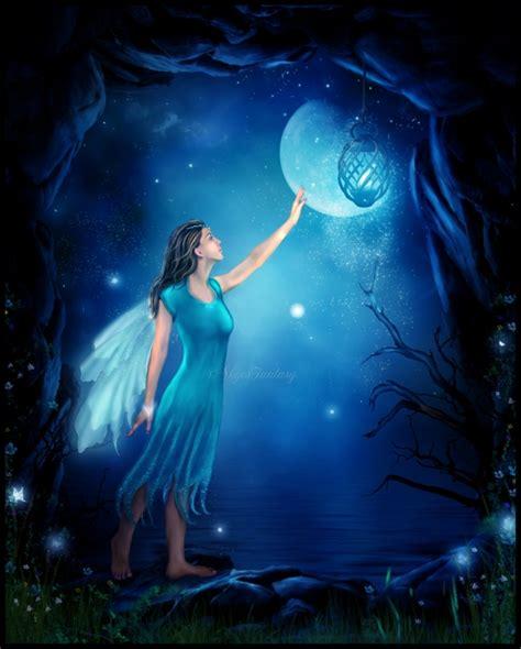Wiccan Moonsong Full Flower Moon Light Fairies