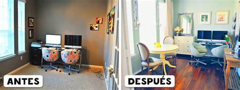 cuarto vs sala 20 habitaciones antes y despu 233 s de haber sido decoradas