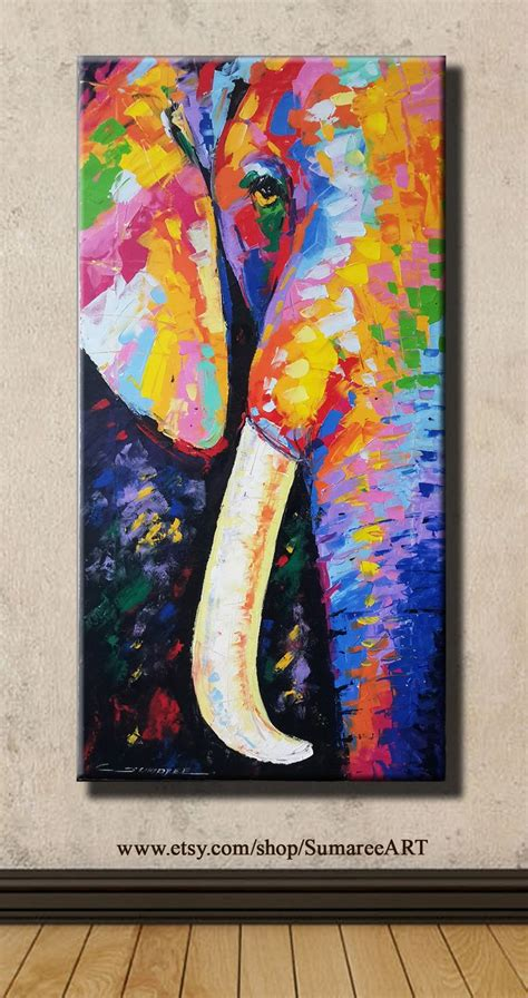 colorful elephant 77 best painting images on colorful elephant