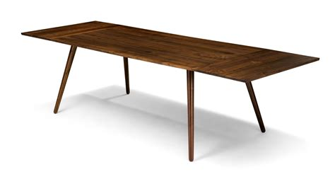 modern extendable dining table seno walnut dining table extendable dining tables