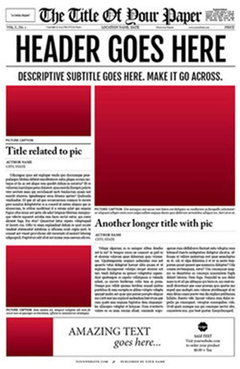 tabloid article template newspaper template for adobe indesign cs6 new