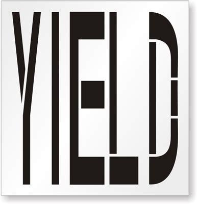 Free Floor Stencils by Yield Stencil Sku St 0340