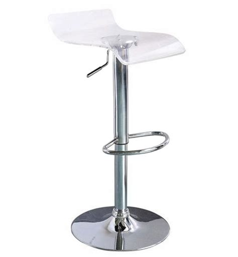 Clear Stool by Clear Acrylic Bar Stool For The Den Finishing Touches