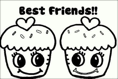 Coloring Pages For Your Best Friend | best friend coloring pages color zini