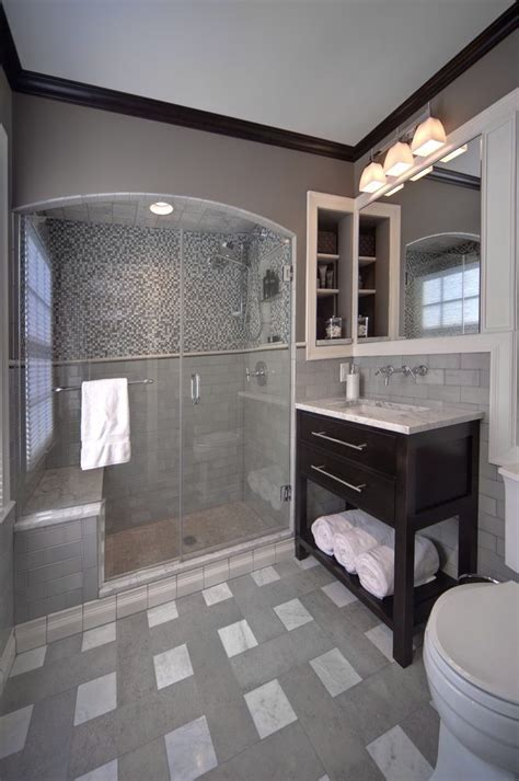 mirrored subway tiles bathroom traditional with black knoxville tennessee united states bathroom tile patterns