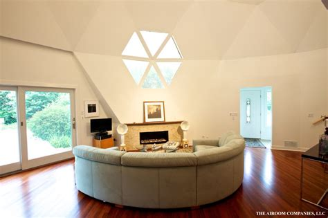 dome home interior modern living room chicago by