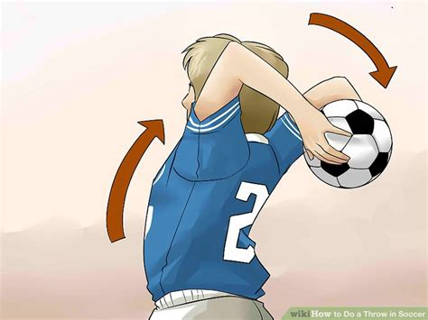 8 Steps To Throwing A Fantastic by How To Do A Throw In Soccer 14 Steps With Pictures