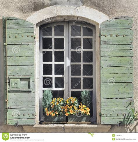 house window shutters window and shutters in old house stock photos image 17603753