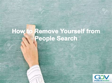 How To Remove Information From Search How To Remove Yourself From Search